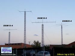 DXBeam 4 el. 20m Yagi short boom