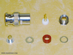 BNC-Male Connector for 5-6mm coaxial