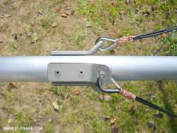 Cosse cœur pour fil de haubanage (2,6 et 3 mm)
