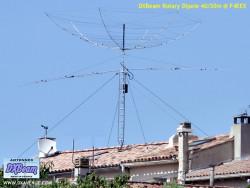 DXBeam 40/30m rotary dipole