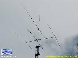 DXBeam 40m rotary dipole
