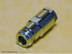 N-Female Connector for 10-11mm coaxial