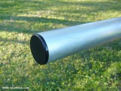 Bouchon pour tube rond Ø 40 mm