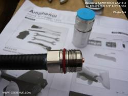 """N-Male 1/2"""" Amphenol AFA12-4 Connector"""