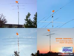 DXBeam 40/30m rotary dipole (self guying option)