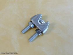 Serre-câble étrier pour câble de haubanage 5 mm