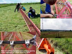 Serre-câble étrier pour câble de haubanage 7,5 mm