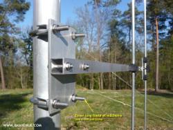 Long U-bolt for Ø 50mm tube