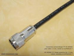 Connecteur N mâle Presse-étoupe 7mm