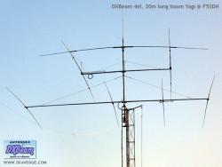 DXBeam 4 el. 20m Yagi long boom