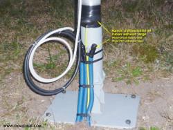 Ruban adhésif PVC électrique large