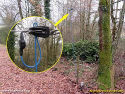 Isolateur pour antenne filaire