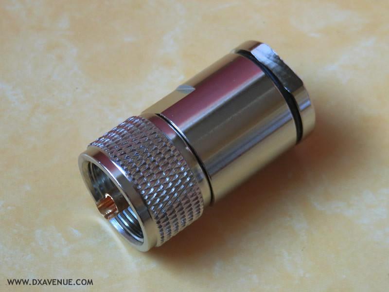 Connecteur PL-259 PRO mâle Presse-étoupe 10-11mm