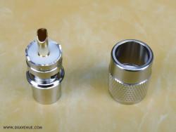 Connecteur PL-259 mâle 10-11mm