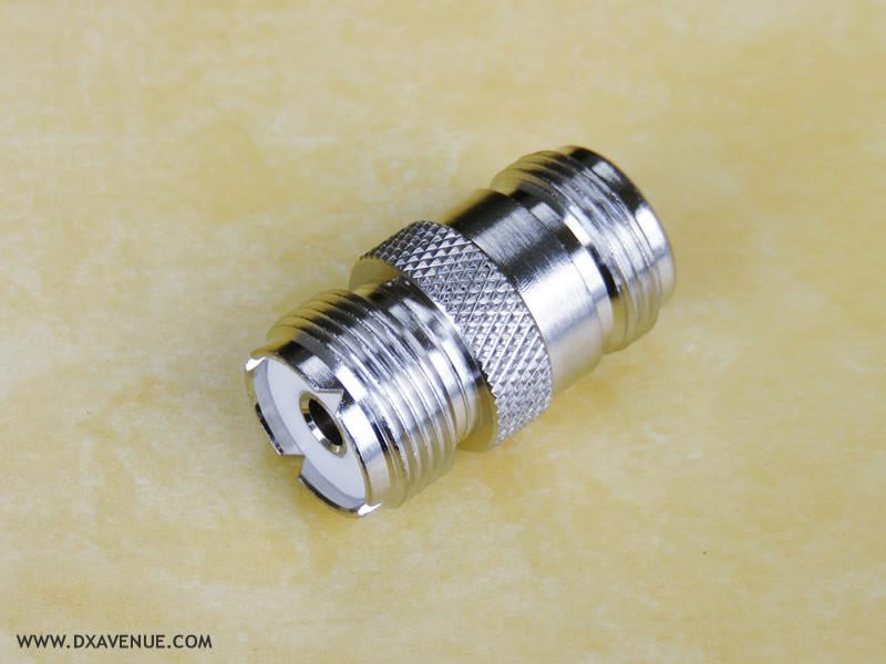PL259-Female N-Female Adapter