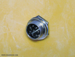 8-pin microphone socket