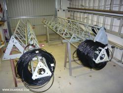 Câble isolant 7,5 mm pour haubanage pylône