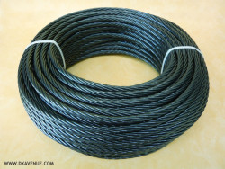 50m 7.5mm insulated mast guying cable