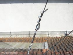 Câble isolant 5 mm haubanage pylône