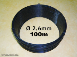 100m 2.6mm insulating wire for guying of antennas