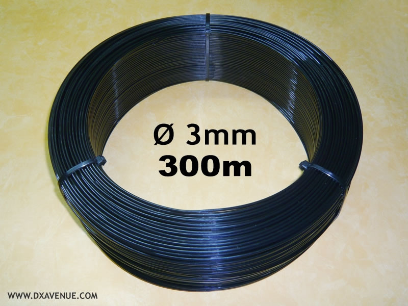 300m 3mm insulating wire for guying of antennas