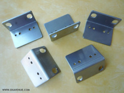 5 stainless steel brackets