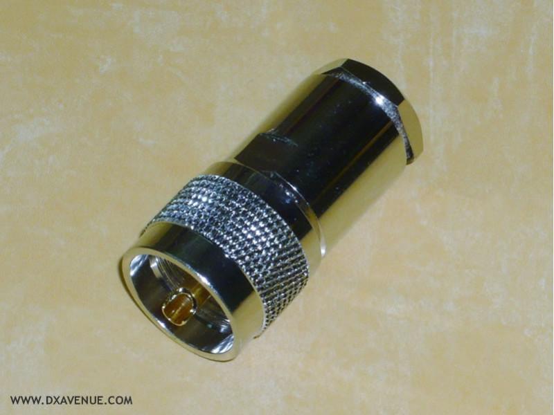 Connecteur PL-259 Presse-étoupe (UHF mâle)