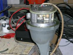 Réfection et graissage d'un rotor d'antennes