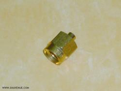 SMA Radiall R125052 Straight plug solder 2mm