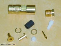 SMB Radiall R114005 Straight plug 2.6mm