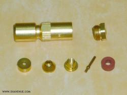 SMB Ottawa Straight plug 2mm