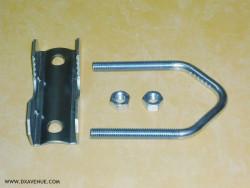 Mâchoire et étrier pour tube Ø 25-52 mm
