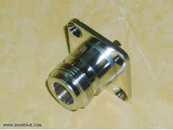 N-Female Chassis mount socket