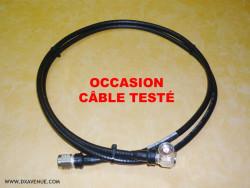 "Bretelle coax 1/4"" - N/N - 2,00 m (OCCASION)"