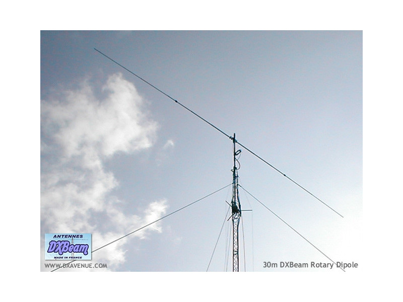 DXBeam 30 meter rotary dipole