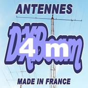 4 m (70 MHz)